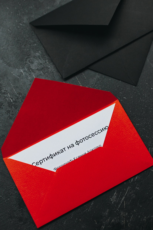 Подарочный сертификат на фотосессию. Минск.